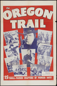 "The Oregon Trail Lot (Film Classics, R-1948). One Sheets (2) (27"" X 41""). Serial. ... (Total: 2 Items)"