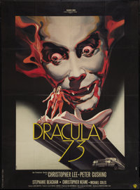 "Dracula A.D. 1972 (Warner Brothers, 1972). French Grande (47"" X 63""). Horror"