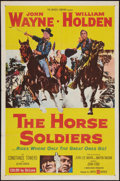 "Movie Posters:Western, The Horse Soldiers (United Artists, 1959). One Sheet (27"" X 41"").Western.. ..."