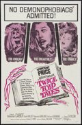"Movie Posters:Horror, Twice Told Tales (United Artists, 1963). One Sheet (27"" X 41"").Horror.. ..."