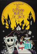 "Movie Posters:Fantasy, The Nightmare Before Christmas (Buena Vista, 1994). Argentinean Poster (27"" X 41""). Fantasy.. ..."