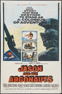 "Jason and the Argonauts (Columbia, 1963). One Sheet (27"" X 41""). Fantasy"