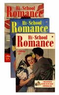 Golden Age (1938-1955):Romance, Hi-School Romance #1-75 Plus File Copy Group (Harvey, 1949-63)Condition: Average VF.... (Total: 77 Comic Books)