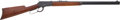 Military & Patriotic:WWII, Superb Condition Winchester M1892 Rifle #1000490, Mfg. 1931....