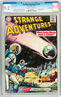 Silver Age (1956-1969):Science Fiction, Strange Adventures #150 Twin Cities pedigree (DC, 1963) CGC NM- 9.2Off-white to white pages....