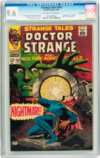 Strange Tales #164 Twin Cities pedigree (Marvel, 1968) CGC NM+ 9.6 Off-white to white pages
