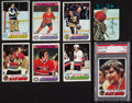 Hockey Cards:Sets, 1977 Topps Hockey Near Set (243/264) Plus Glossy Inserts Near Set (17/22). ...