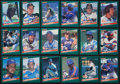 "Baseball Cards:Autographs, 1986 Donruss ""The Rookies"" Signed Cards Lot of 18...."
