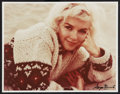 """Movie Posters:Miscellaneous, Marilyn Monroe by George Barris (Edward Weston Edition,1987 ).Autographed Photo (11"""" X 14""""). Miscellaneous.. ..."""