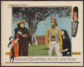 "Movie Posters:Drama, Blood and Sand (Paramount, 1922). Lobby Card (11"" X 14""). Drama....."
