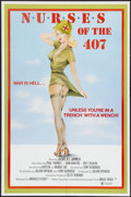 "Movie Posters:Adult, Nurses of the 407 (Miracle Films, 1983). One Sheet (25"" X 38"").Adult.. ..."