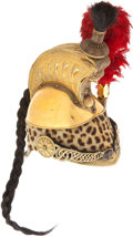 Military & Patriotic:Foreign Wars, French Model 1845 Cuirassier Officer's Helmet...