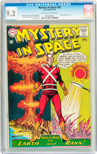 Mystery in Space #82 (DC, 1963) CGC NM- 9.2 Off-white to white pages