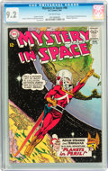 Silver Age (1956-1969):Science Fiction, Mystery in Space #90 (DC, 1964) CGC NM- 9.2 Off-white pages....
