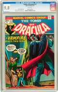 Bronze Age (1970-1979):Horror, Tomb of Dracula #17 (Marvel, 1974) CGC NM/MT 9.8 White pages....