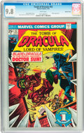 Bronze Age (1970-1979):Horror, Tomb of Dracula #42 Western Penn pedigree (Marvel, 1976) CGC NM/MT9.8 White pages....