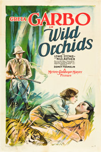 "Wild Orchids (MGM, 1929). One Sheet (27"" X 41"")"