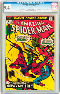 The Amazing Spider-Man #149 (Marvel, 1975) CGC NM 9.4 White pages