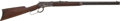 Military & Patriotic:WWI, Very Fine Winchester M1892 Rifle #777113, Mfg. Late 1913....