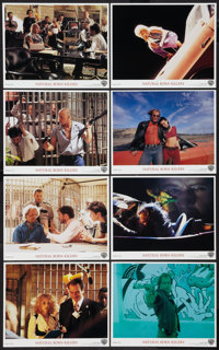 "Natural Born Killers (Warner Brothers, 1994). International Mini Lobby Card Set of 8 (8"" X 10""). Crime. ... (T..."