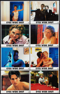 "Eyes Wide Shut (Warner Brothers, 1999). International Lobby Card Set of 8 (11"" X 14""). Drama. ... (Total: 8 It..."