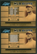 "Baseball Cards:Singles (1970-Now), 2005 Playoff Prime Cuts ""MLB Icons"" Jim Thorpe Baseball JerseySwatch Card Pair (2). ..."