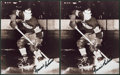 "Hockey Collectibles:Photos, Maurice ""Rocket"" Richard Signed Photographs Lot of 2...."