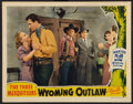 """Movie Posters:Western, Wyoming Outlaw (Republic, 1939). Autographed Lobby Card (11"""" X14""""). Western.. ..."""