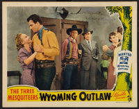 """Wyoming Outlaw (Republic, 1939). Autographed Lobby Card (11"""" X 14""""). Western"""
