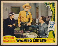 "Wyoming Outlaw (Republic, 1939). Lobby Card (11"" X 14""). Western"