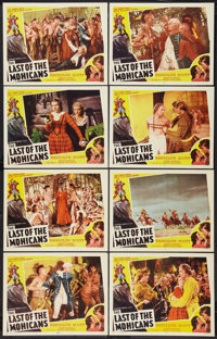"The Last of the Mohicans (Astor, R-1951). Lobby Card Set of 8 (11"" X 14""). Adventure. ... (Total: 8 Items)"