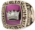 "Boxing Collectibles:Memorabilia, 1978 Muhammad Ali's Personal ""Three Times World Champion"" Ring...."
