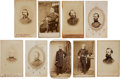 Military & Patriotic:Civil War, Great Group of Nine Cartes-de-Visites of Civil War Union Generals:... (Total: 9 Items)