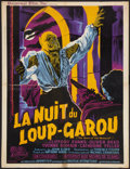 "Movie Posters:Horror, Curse of the Werewolf (Universal International, 1961). FrenchAffiche (23.5"" X 31""). Horror.. ..."