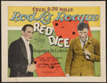 "Movie Posters:Crime, Red Dice (Producers Distributing Corp., 1926). Title Lobby Card(11"" X 14""). Crime.. ..."