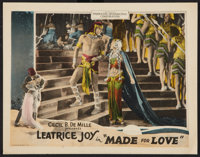 "Made for Love (Producers Distributing Corp., 1926). Lobby Card (11"" X 14""). Romance"