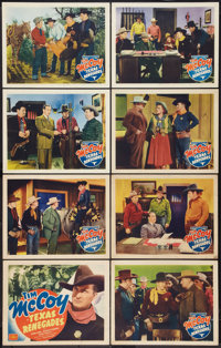 """Texas Renegades (PRC, 1940). Lobby Card Set of 8 (11"""" X 14""""). Western. ... (Total: 8 Items)"""