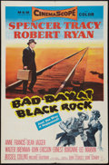 "Movie Posters:Thriller, Bad Day at Black Rock (MGM, 1955). One Sheet (27"" X 41""). Thriller.. ..."