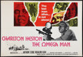 """Movie Posters:Science Fiction, The Omega Man (Warner Brothers, 1971). British Quad (30"""" X 40"""").Science Fiction.. ..."""
