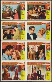 "Marnie (Universal, 1964). Lobby Card Set of 8 (11"" X 14""). Hitchcock. ... (Total: 8 Items)"