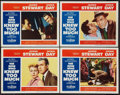 "Movie Posters:Hitchcock, The Man Who Knew Too Much (Paramount, 1956). Lobby Cards (4) (11"" X14""). Hitchcock.. ... (Total: 4 Items)"