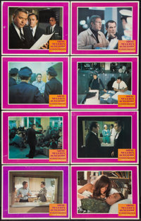 "Bullitt (Warner Brothers, 1968). Lobby Card Set of 8 (11"" X 14""). Crime. ... (Total: 8 Items)"