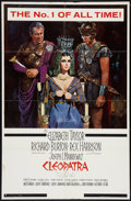 "Movie Posters:Historical Drama, Cleopatra (20th Century Fox, 1963). One Sheet (27"" X 41"") Todd-AOStyle. Historical Drama.. ..."