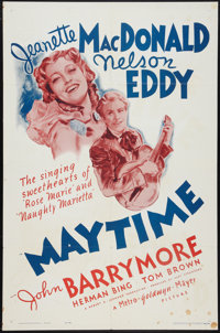 "Maytime (MGM, R-1962). One Sheet (27"" X 41""). Musical"