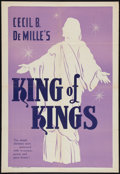 "Movie Posters:Historical Drama, The King of Kings Lot (Pathé, R-1950s). One Sheets (2) (27"" X 41"").Historical Drama.. ... (Total: 2 Items)"