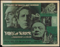 "Movie Posters:Horror, Tales of Terror (American International, 1962). Half Sheet (22"" X28""). Horror.. ..."