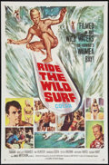"""Movie Posters:Sports, Ride the Wild Surf (Columbia, 1964). One Sheet (27"""" X 41"""").Sports.. ..."""