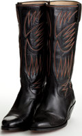 Movie/TV Memorabilia:Costumes, A Pair of Nudie's Cowboy Boots, 1970s....