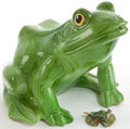 Movie/TV Memorabilia:Memorabilia, Two Frog Figurines, 1970s.... (Total: 2 )