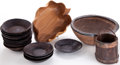 Movie/TV Memorabilia:Memorabilia, A Group of Rustic Bowls, 1960s.... (Total: 18 )